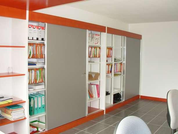 pour bureau et espace de vie sur mesure et agencement. Black Bedroom Furniture Sets. Home Design Ideas